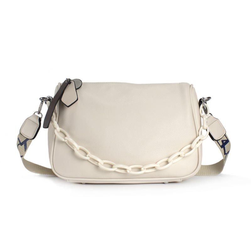 Женская сумка Pamela кремовая фото