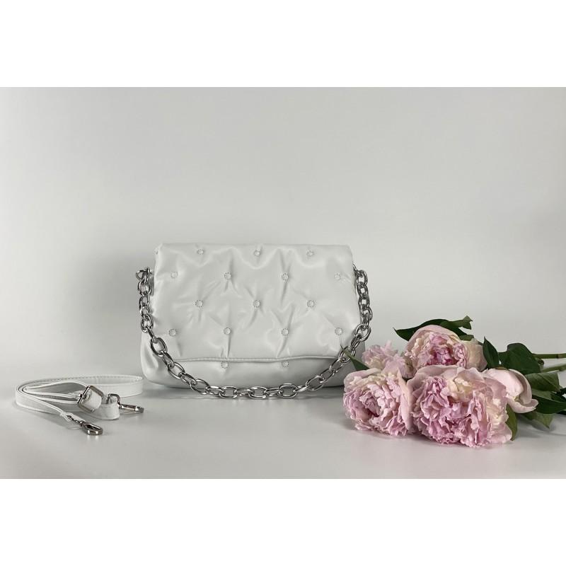 Женская сумка Jessie белая фото - 2