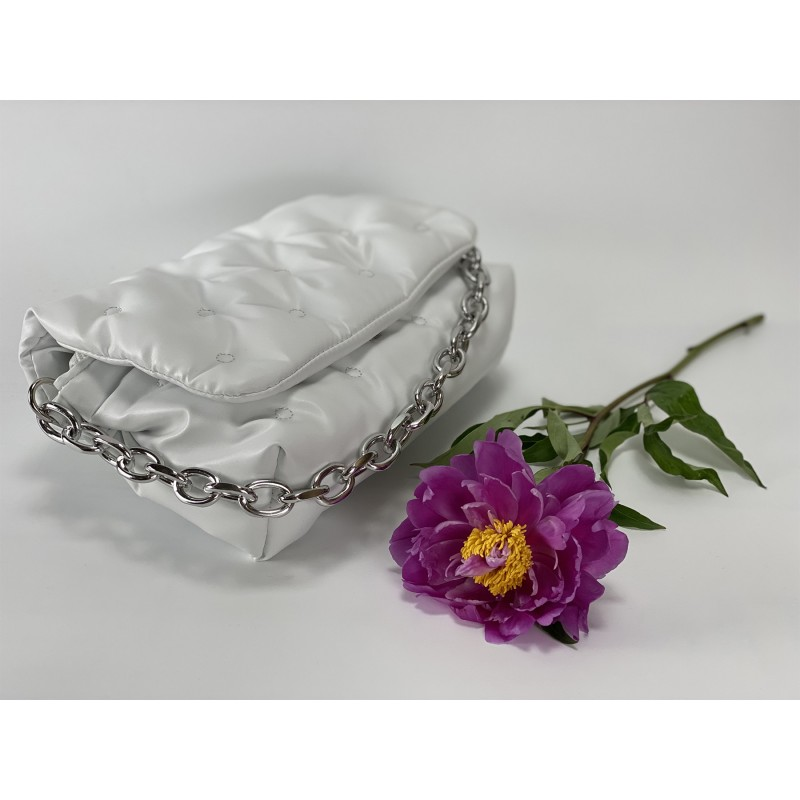 Женская сумка Jessie белая фото - 3