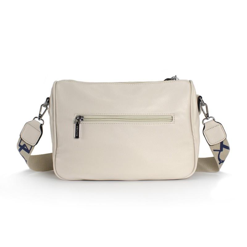 Женская сумка Pamela кремовая - 2 фото