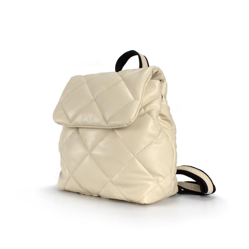 Женский рюкзак Helen кремовый - 1 фото