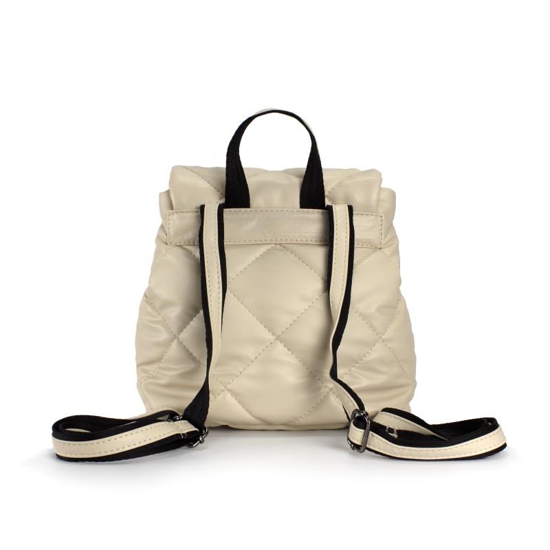 Женский рюкзак Helen кремовый - 2 фото