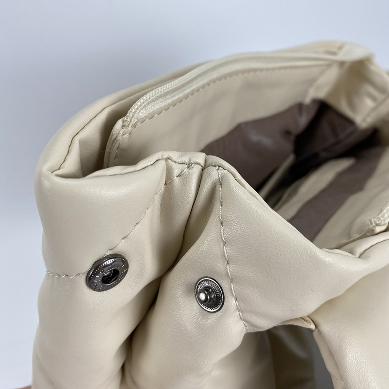 Женский рюкзак Helen кремовый - 6 фото