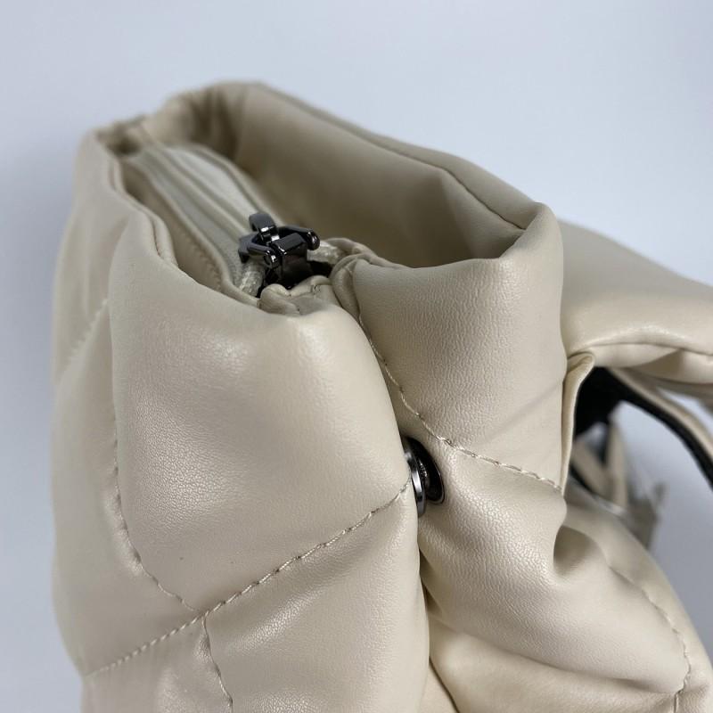 Женский рюкзак Helen кремовый - 7 фото