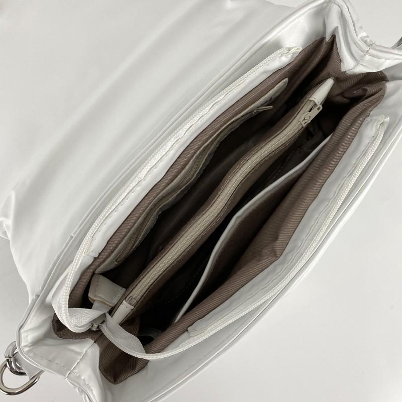 Женская сумка Jessie белая фото - 8