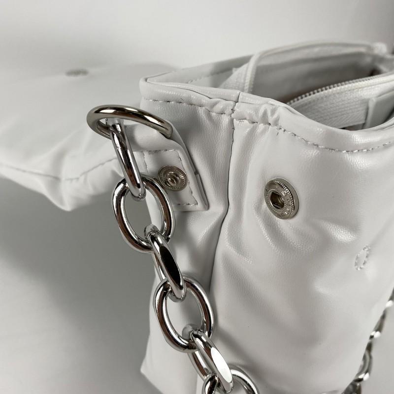 Женская сумка Jessie белая фото - 9