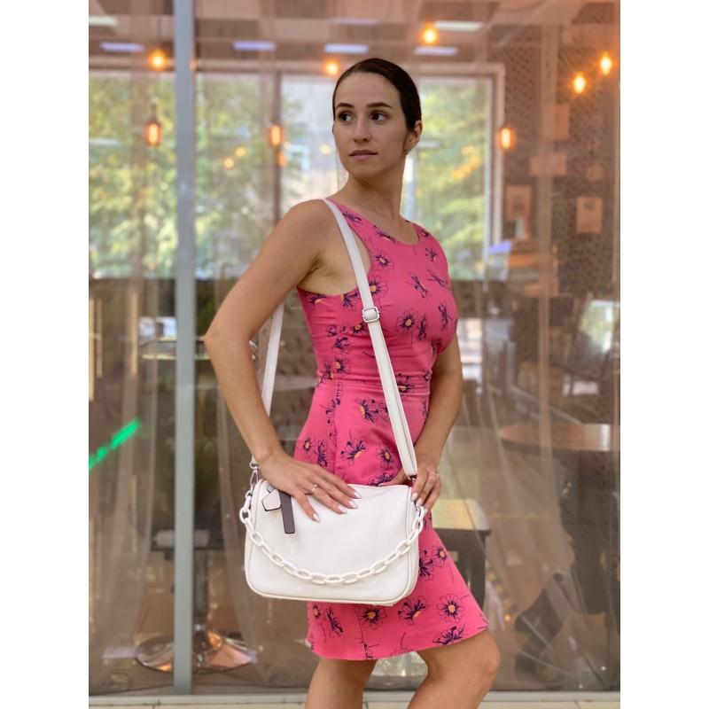 Женская сумка Pamela кремовая - 3 фото