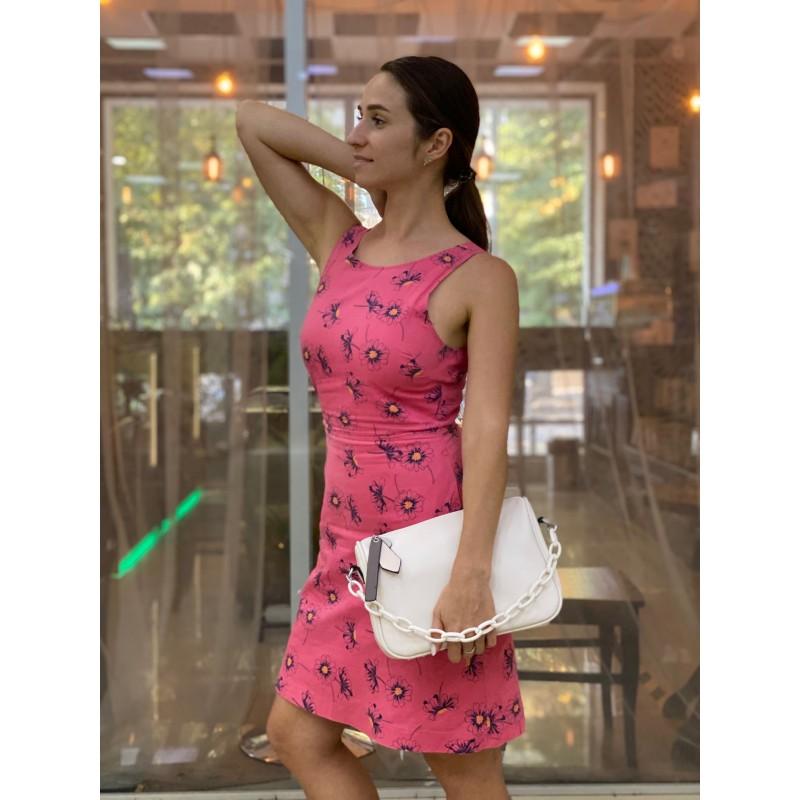 Женская сумка Pamela кремовая - 4 фото