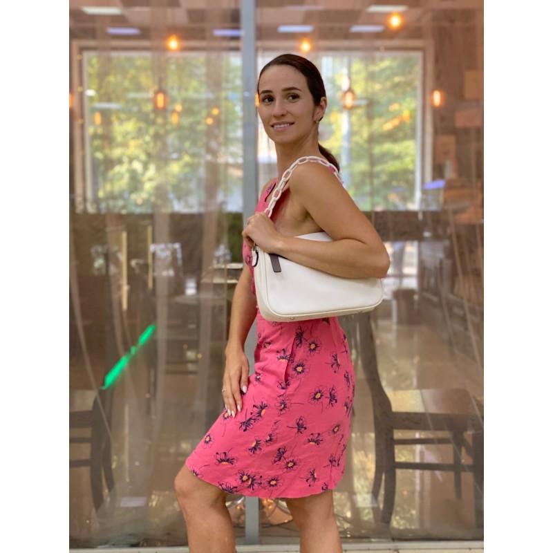 Женская сумка Pamela кремовая - 5 фото