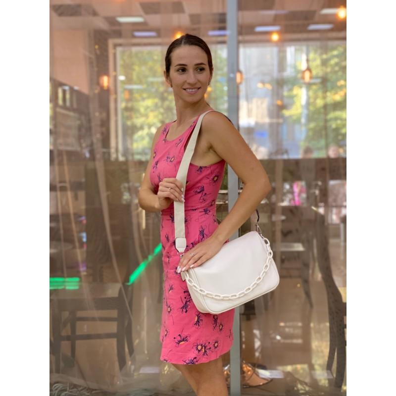 Женская сумка Pamela кремовая - 6 фото