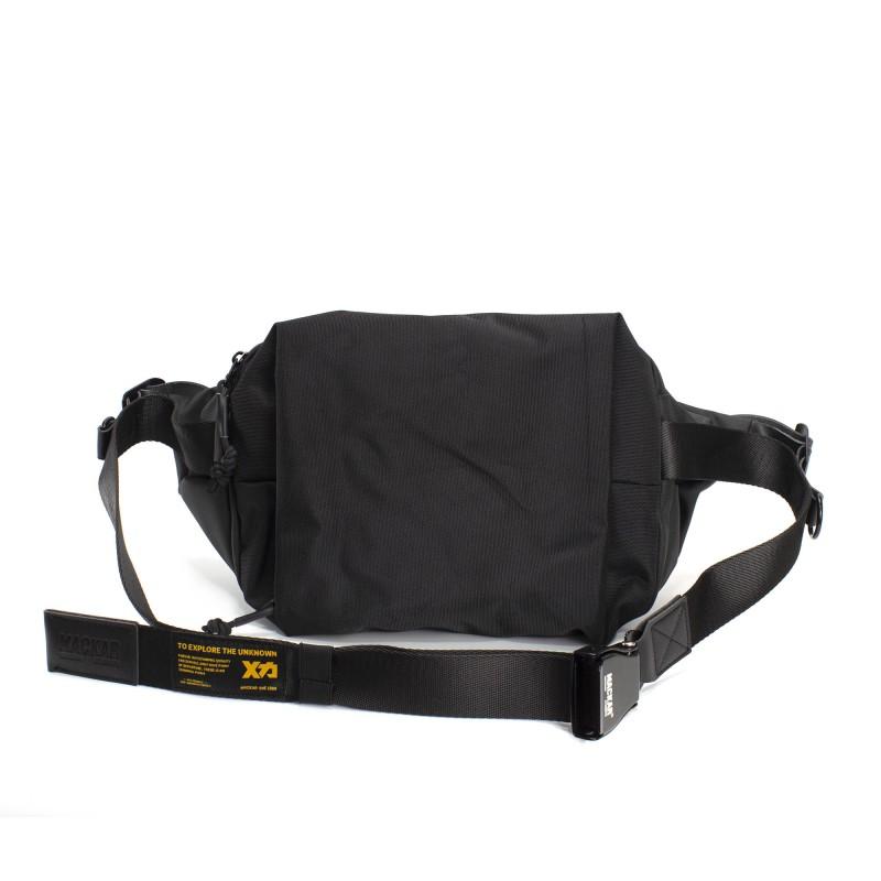 Мужская сумка Mackar Urban кросс боди через плечо черная фото - 2
