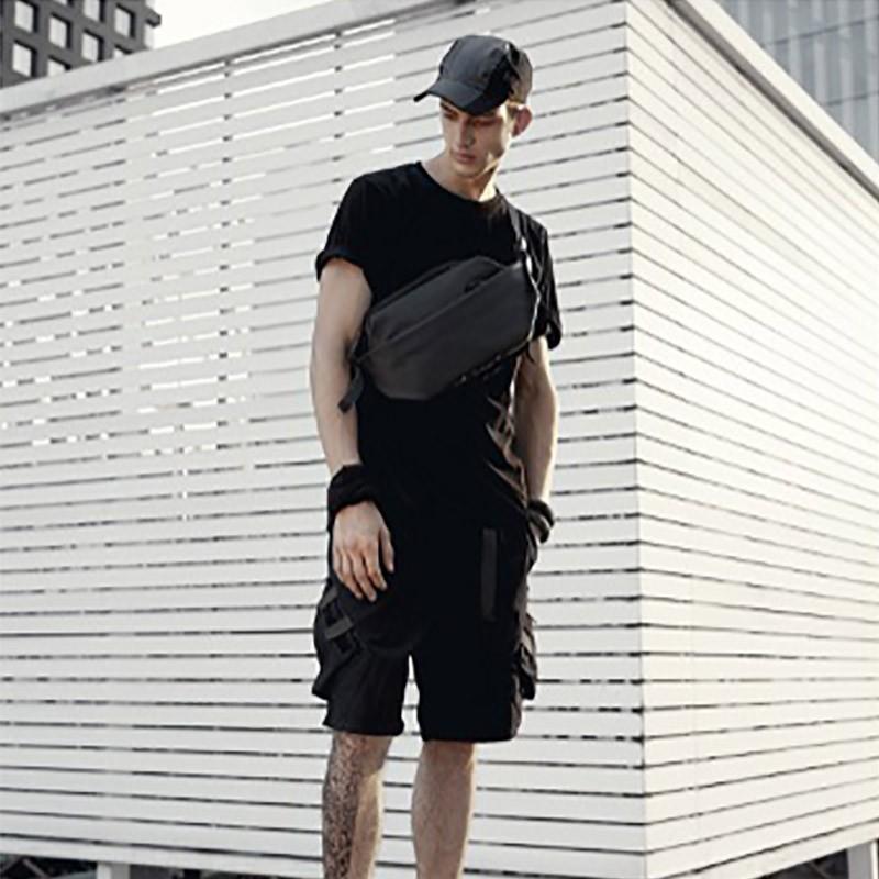 Мужская сумка Mackar Urban кросс боди через плечо черная фото - 6