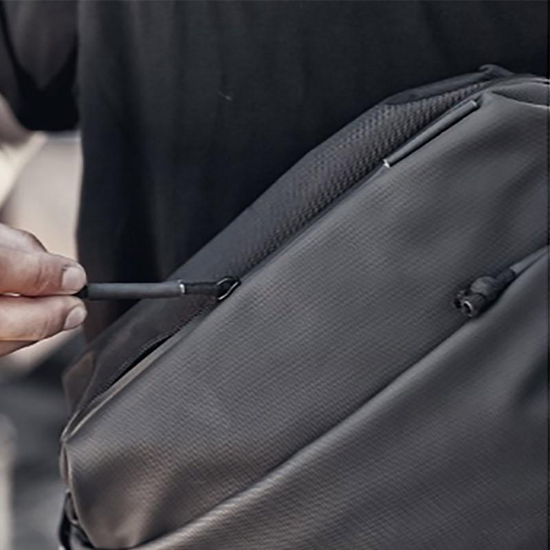 Мужская сумка Mackar Urban кросс боди через плечо черная фото - 7