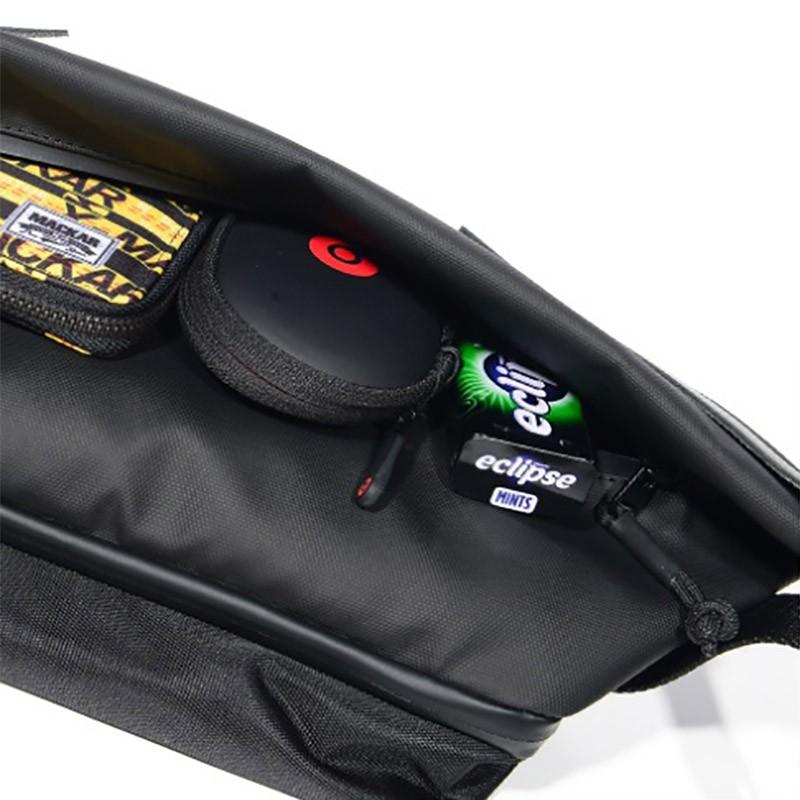 Мужская сумка Mackar Urban кросс боди через плечо черная фото - 8