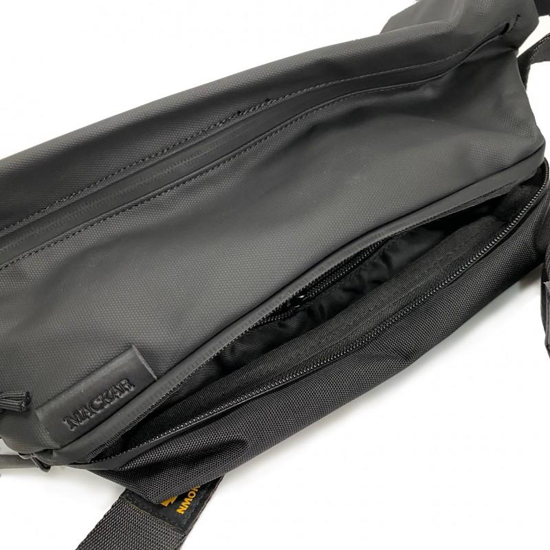 Мужская сумка Mackar Urban кросс боди через плечо черная фото - 10