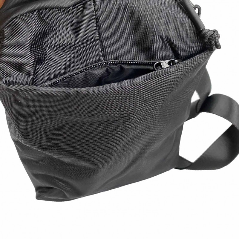Мужская сумка Mackar Urban кросс боди через плечо черная фото - 11