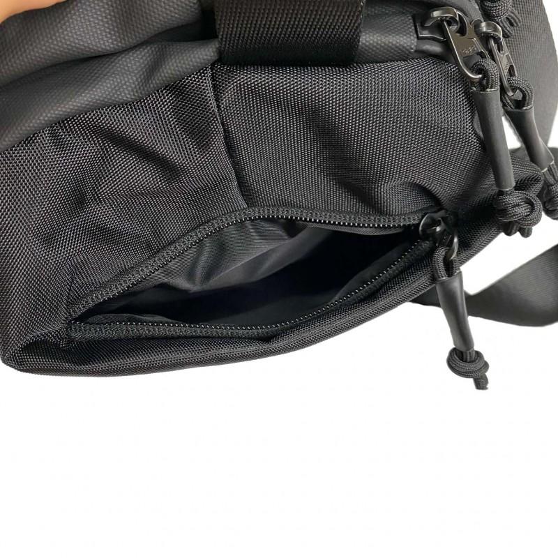 Мужская сумка Mackar Urban кросс боди через плечо черная фото - 12