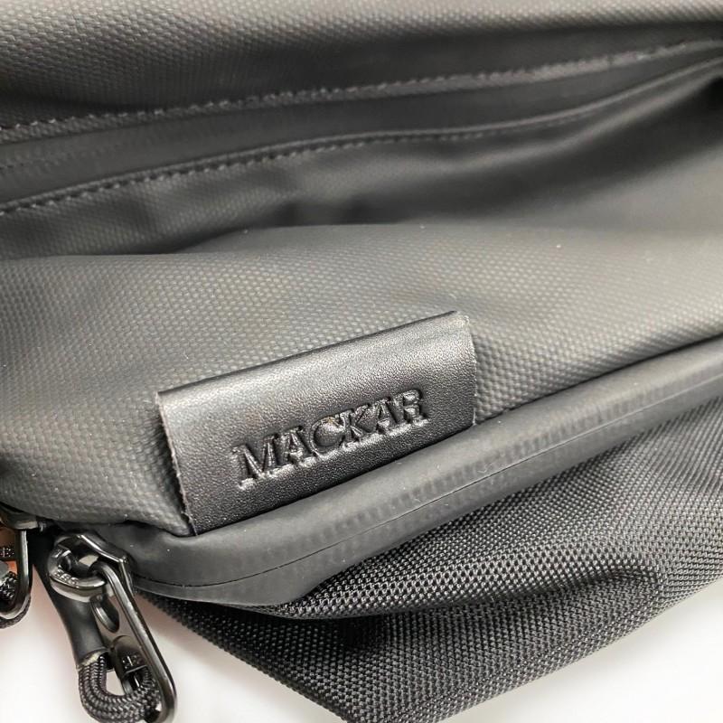 Мужская сумка Mackar Urban кросс боди через плечо черная фото - 13