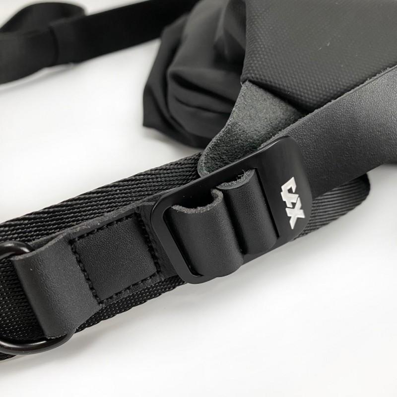 Мужская сумка Mackar Urban кросс боди через плечо черная фото - 14