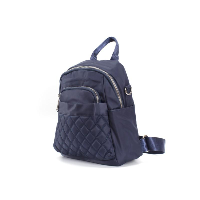 Женский рюкзак Viva синий - 1 фото