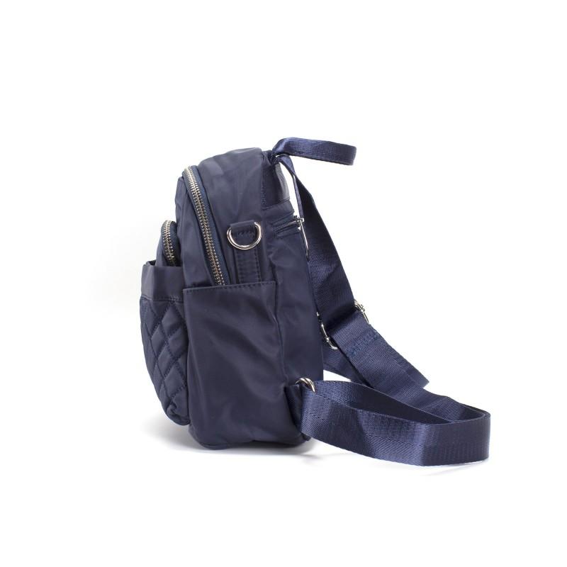 Женский рюкзак Viva синий - 2 фото