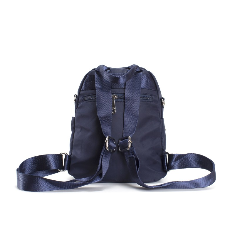 Женский рюкзак Viva синий - 3 фото