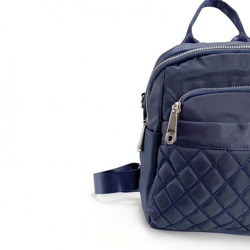 Женский рюкзак Viva синий - 5 фото