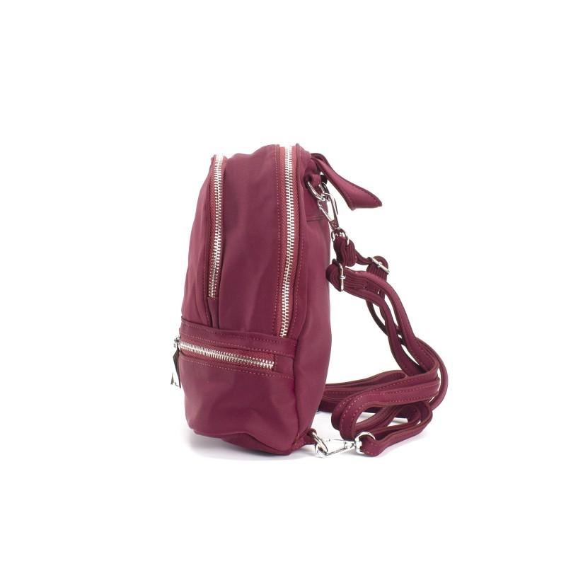 Женский рюкзак Eva бордовый - 2 фото