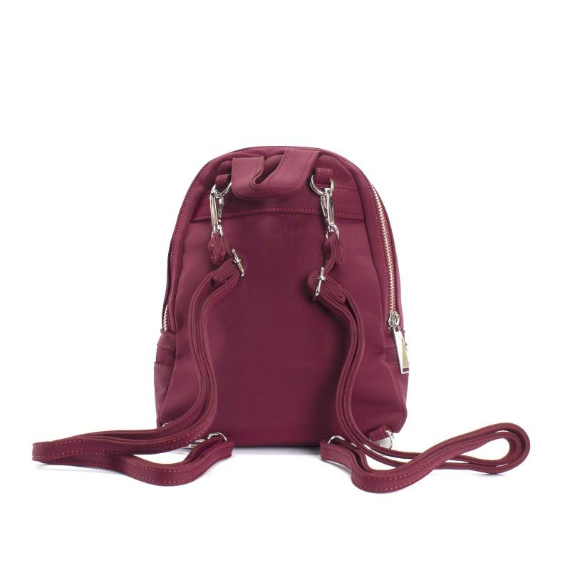 Женский рюкзак Eva бордовый - 3 фото