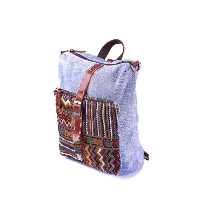 Женский рюкзак Tact голубой фото