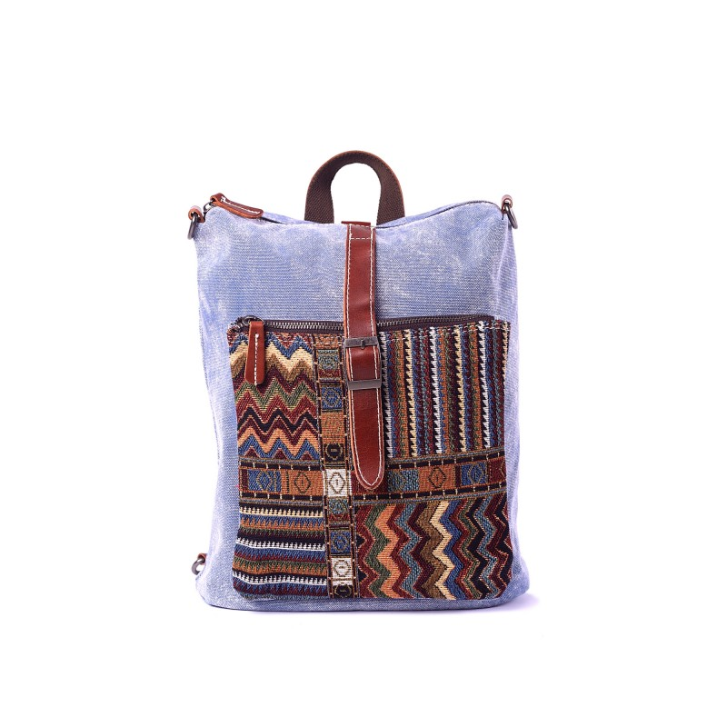 Женский рюкзак Tact голубой - 1 фото