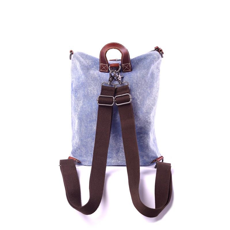 Женский рюкзак Tact голубой - 2 фото