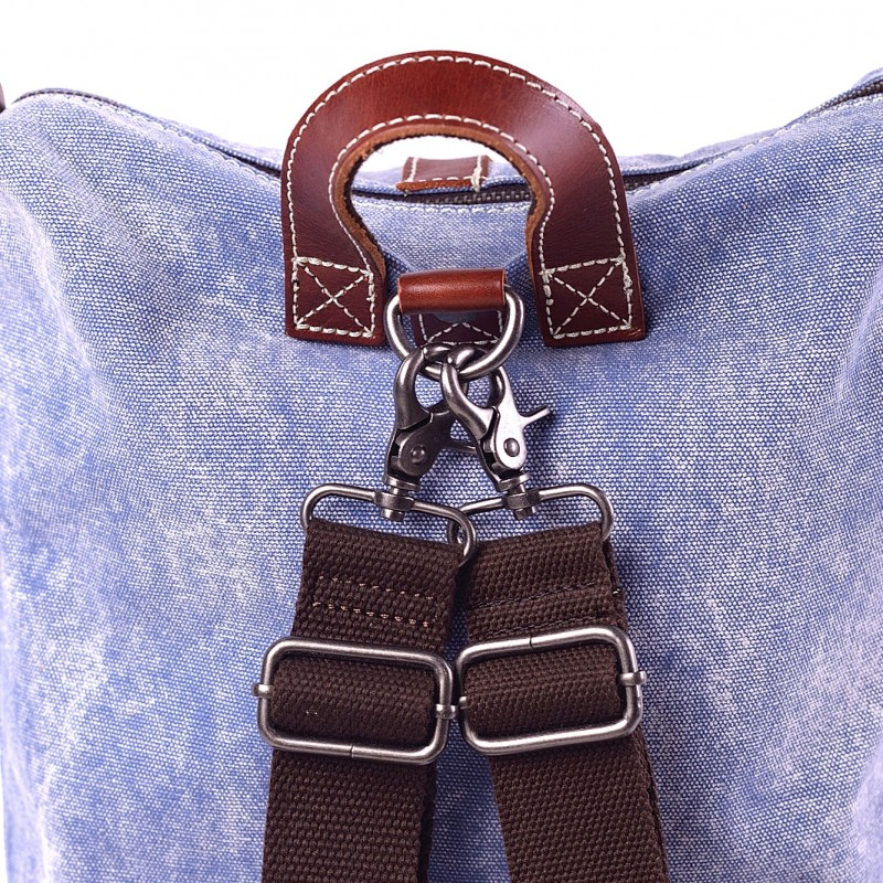 Женский рюкзак Tact голубой - 3 фото