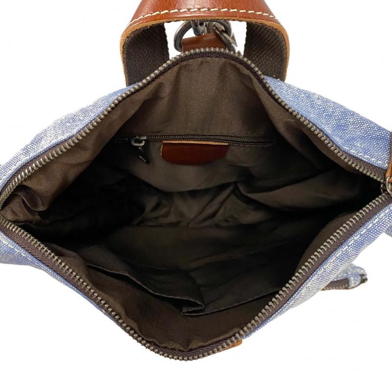 Женский рюкзак Tact голубой - 5 фото
