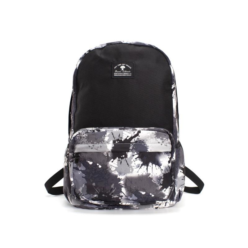 Рюкзак Galaxy Blur чорно-білий фото