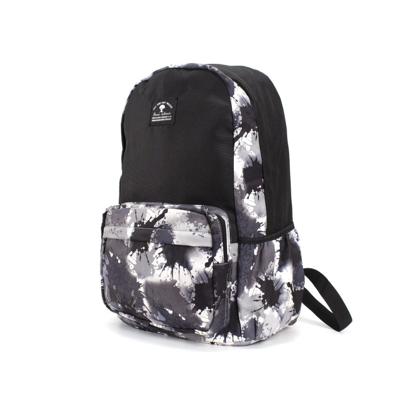 Рюкзак Galaxy Blur черно-белый - 1 фото