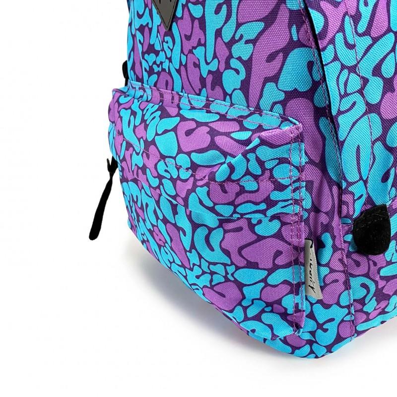 Женский рюкзак Idea голубой - 4 фото