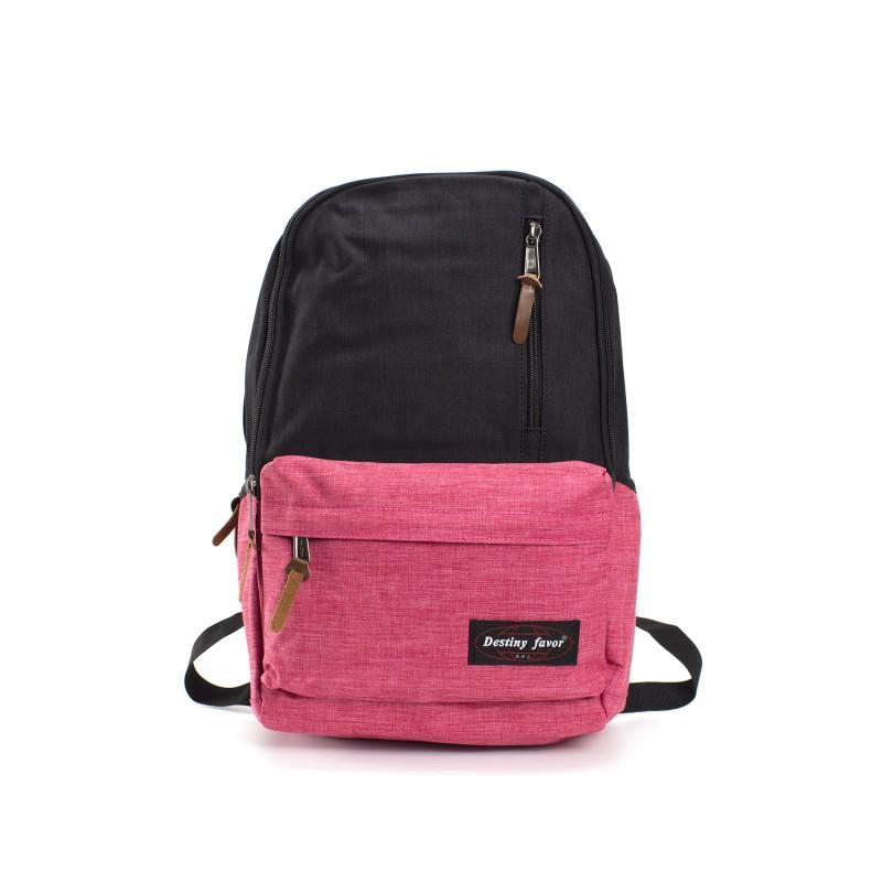 Женский рюкзак Fashion черно-розовый фото