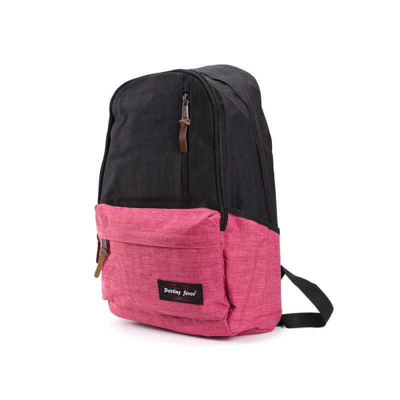 Женский рюкзак Fashion черно-розовый - 1 фото