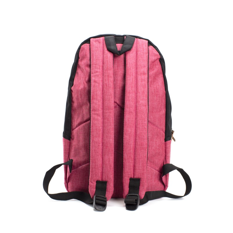 Женский рюкзак Fashion черно-розовый - 3 фото