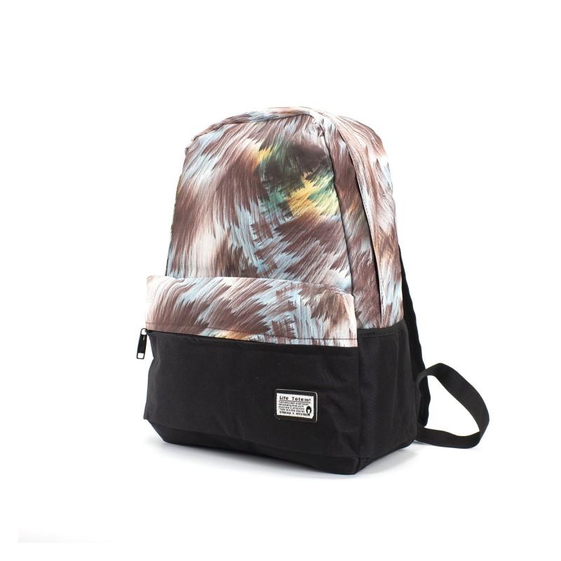 Женский рюкзак Illusion разноцветный - 1 фото
