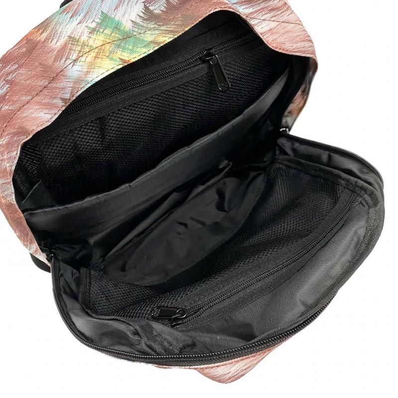 Женский рюкзак Illusion разноцветный - 4 фото
