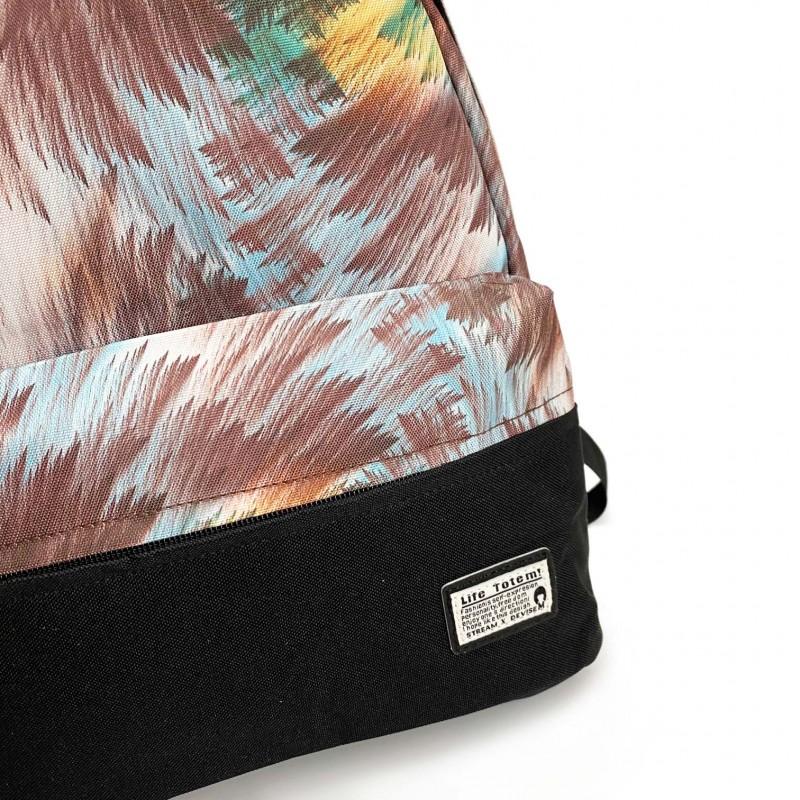 Женский рюкзак Illusion разноцветный - 6 фото