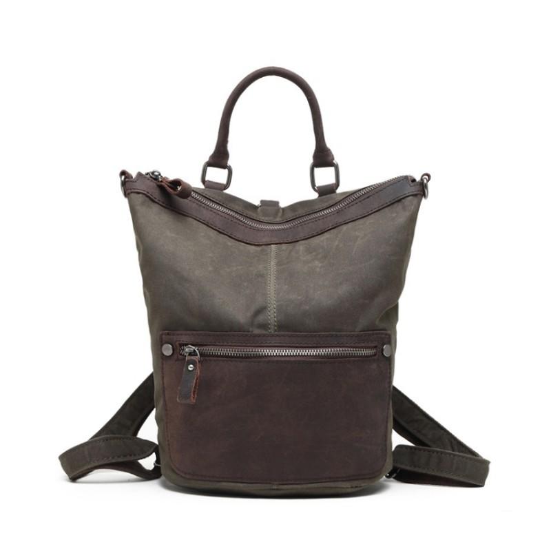 Женский рюкзак Casual way хаки фото