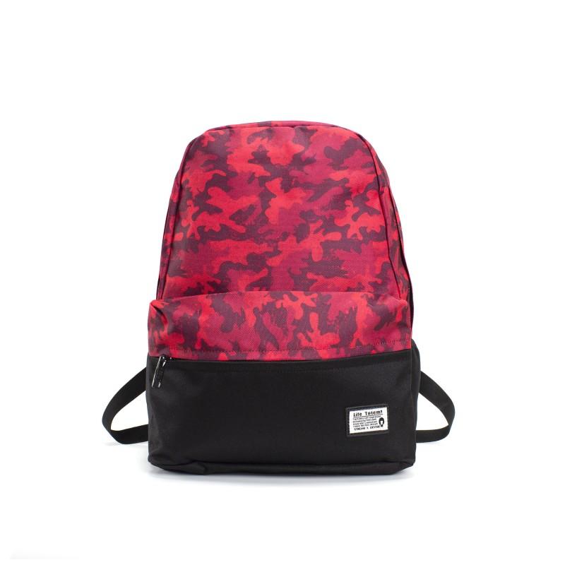 Рюкзак Battle бордовый камуфляж фото