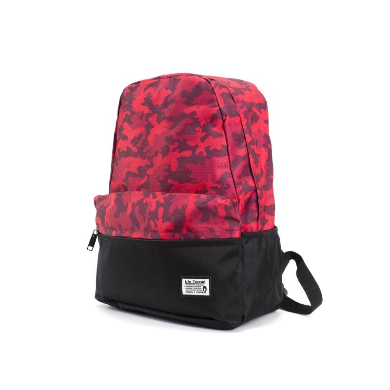 Рюкзак Battle бордовий камуфляж - 1 фото