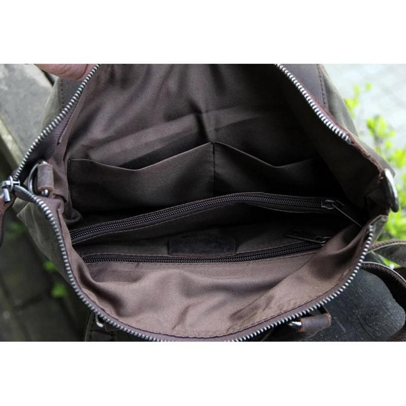Женский рюкзак Casual way хаки фото - 9