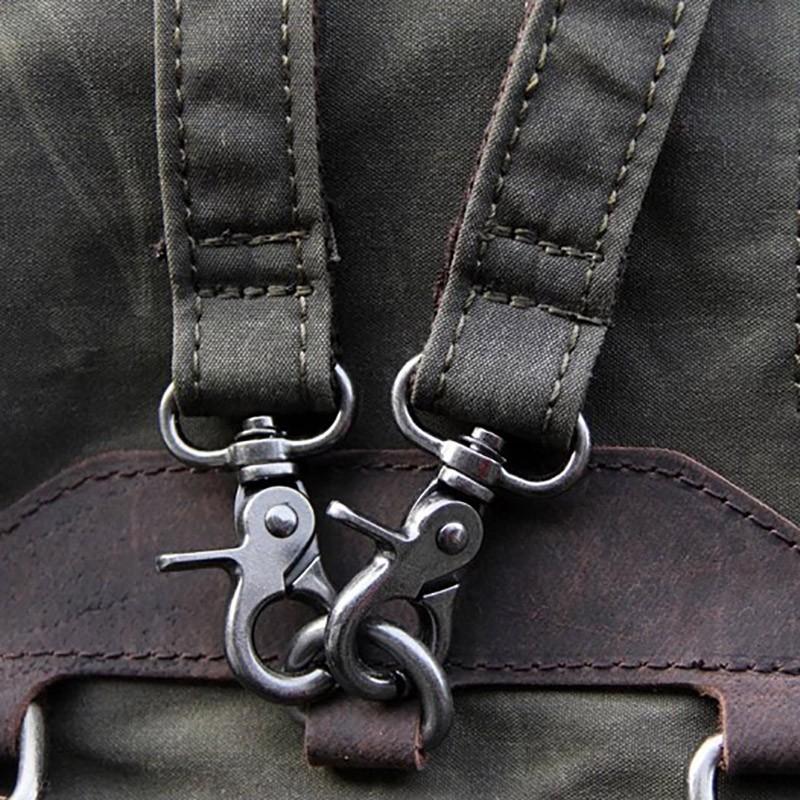 Женский рюкзак Casual way хаки фото - 12