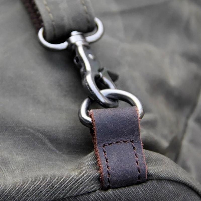 Женский рюкзак Casual way хаки фото - 13