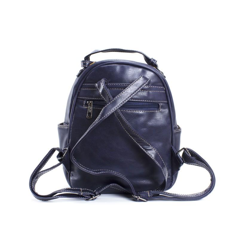 Женский рюкзак Bonnie синий - 3 фото